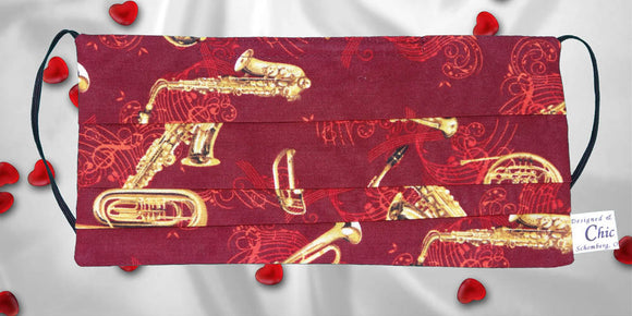 Music Wind Instruments Red Mask
