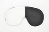 Zen White Black Sleeping Eye Mask