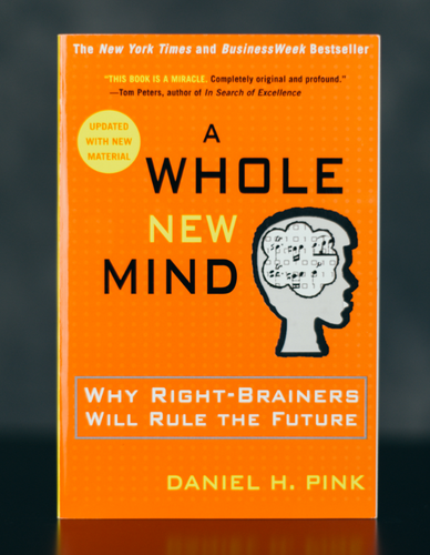 A Whole New Mind: Why Right-Brainers Will Rule the Future - Signed by Author Daniel Pink (SC)