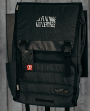 Load image into Gallery viewer, OGIO Apex Rucksack -  Heather Gray, Silver FTL Logo Embroidered