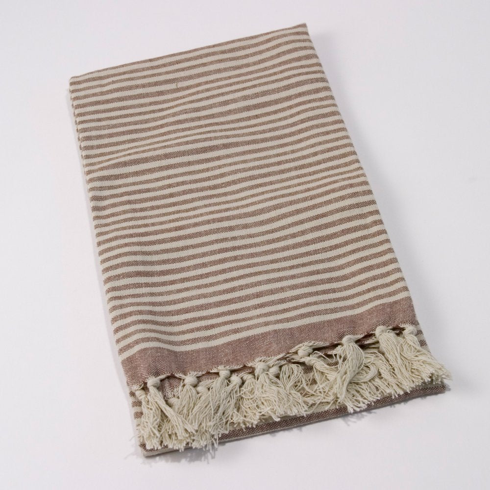 Stripe Fringe Towel