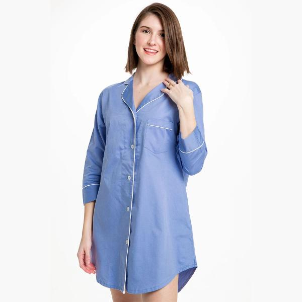 Button Down Sleep Shirt