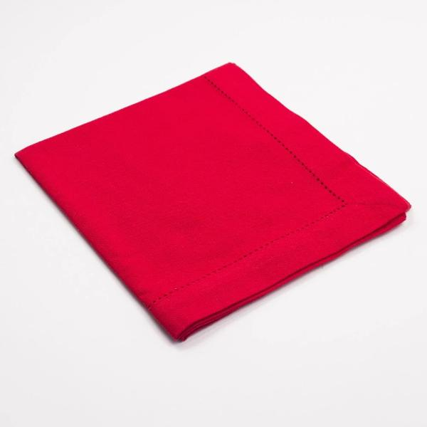 Cotton Hemstitch Dinner Napkins