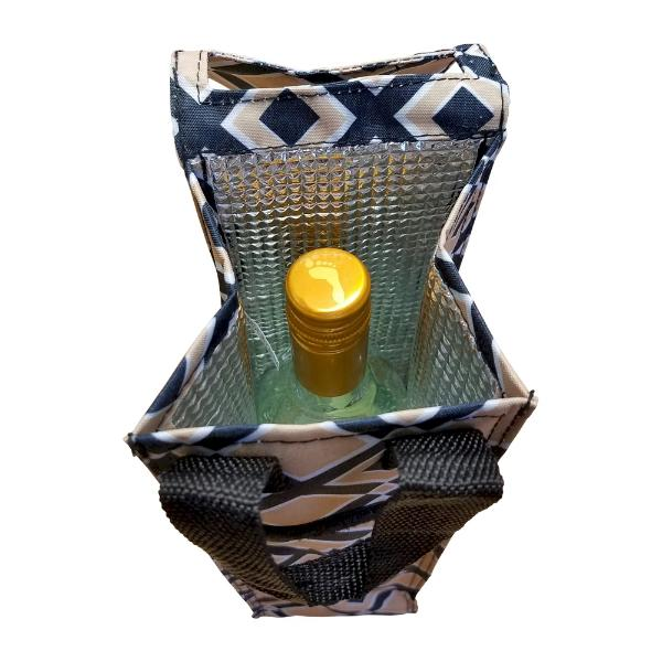 Insulated Wine Tote - Times Square