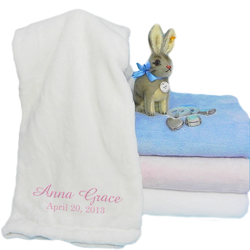 Soft Touch Luxury Fleece Baby Blanket