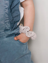 Load image into Gallery viewer, Boho Beige // mini scrunchie