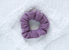 Load image into Gallery viewer, Amethyst // mini scrunchie