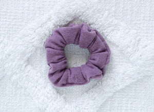 Amethyst // mini scrunchie