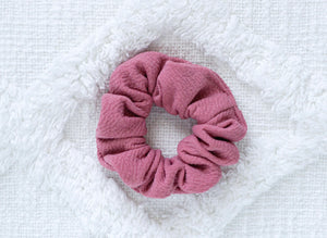 Bubblegum // mini scrunchie