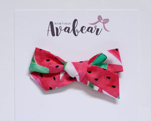Fresh Watermelon // schoolgirl bow