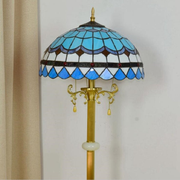 Tiffany style floor lamps