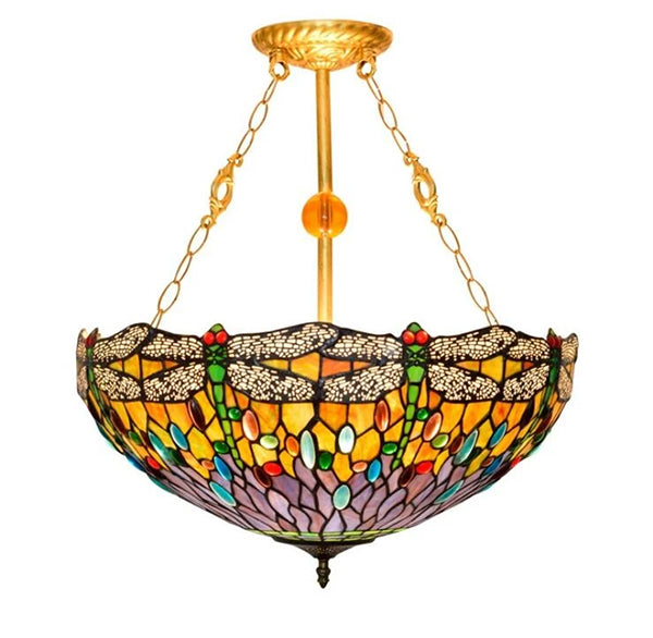 Tiffany style small glass ceiling lights.jpg