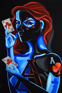 Royal Flush: Ace of Clubs
