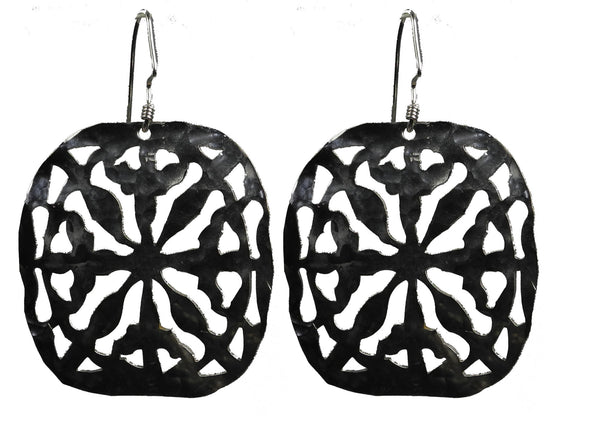 Native Earrings (large-white)