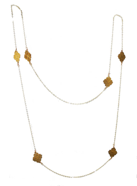 Thai Station Necklace (yellow)