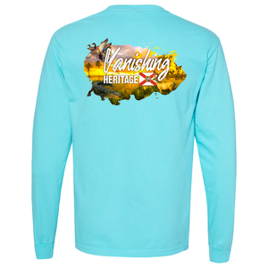 Vanishing Heritage - Comfort Colors Long Sleeve Pocket Tee