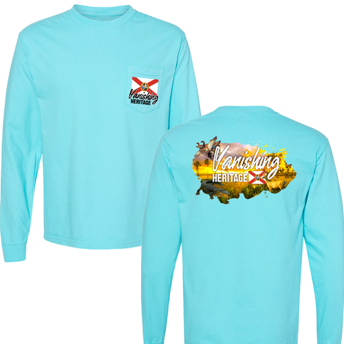 Vanishing Heritage - Long Sleeve Pocket Tee