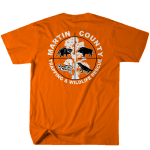 Martin County Trapping and Wildlife - Orange Tee