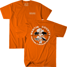 Load image into Gallery viewer, Martin County Trapping and Wildlife - Orange Tee