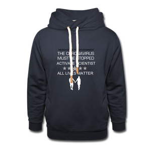 Unisex Shawl Collar Hoodie - SHE REAL 100%