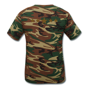Unisex Camouflage T-Shirt - SHE REAL 100%