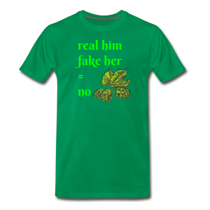 Men's Premium T-Shirt - SHE REAL 100%