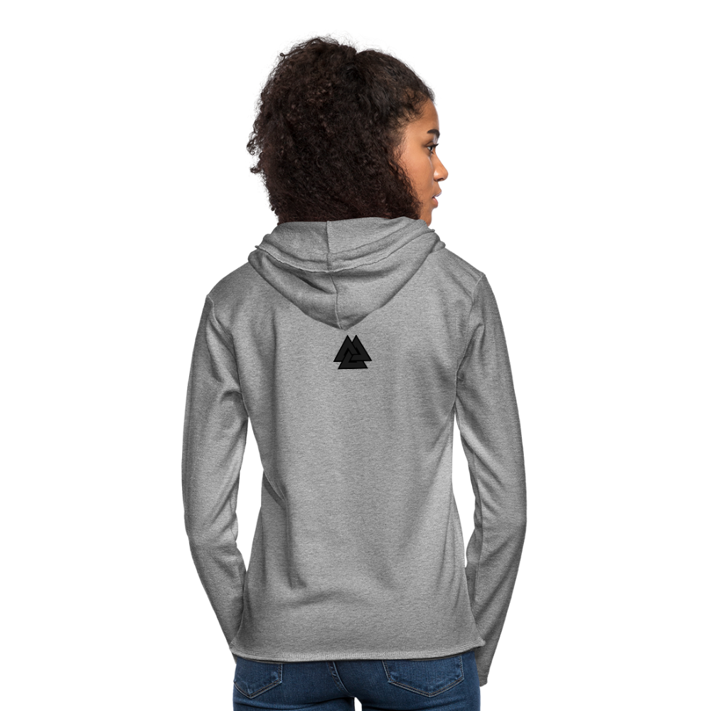 Unisex Lightweight Terry Hoodie - SHE REAL 100%