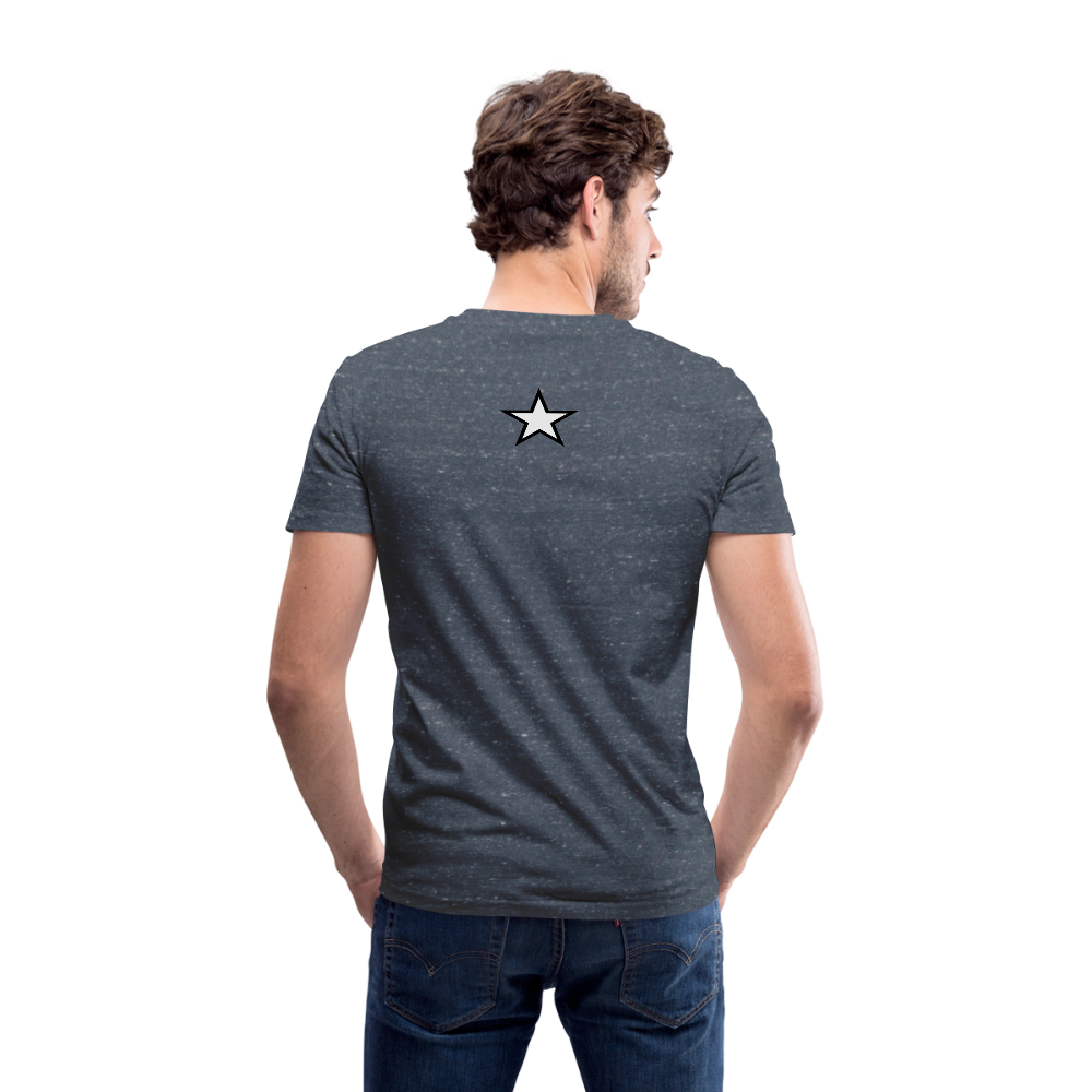 Men's V-Neck T-Shirt by Canvas - SHE REAL 100%