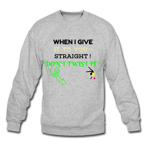 Crewneck Sweatshirt - SHE REAL 100%