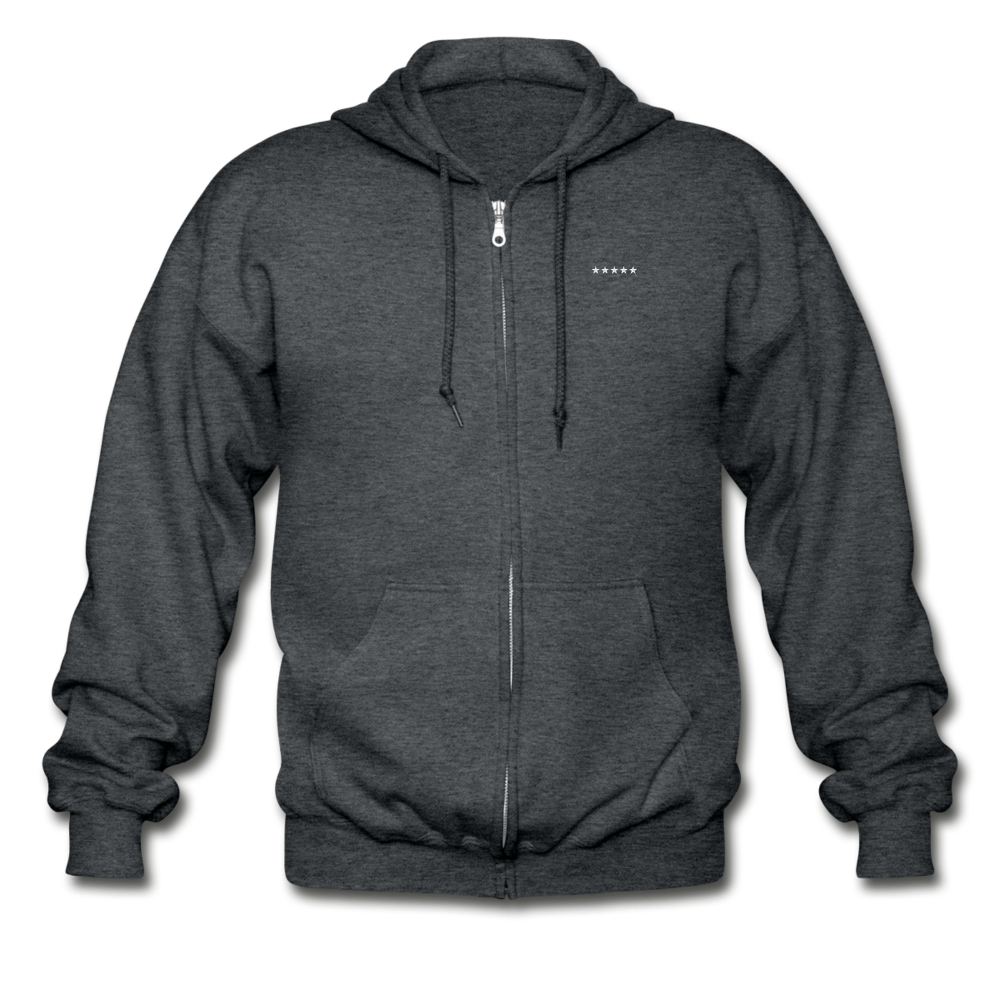 Gildan Heavy Blend Adult Zip Hoodie - SHE REAL 100%