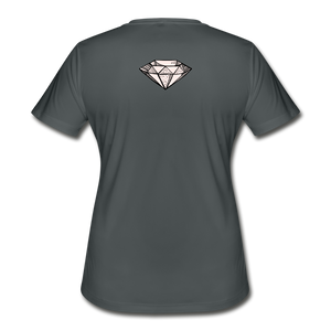 Women's Moisture Wicking Performance T-Shirt - SHE REAL 100%