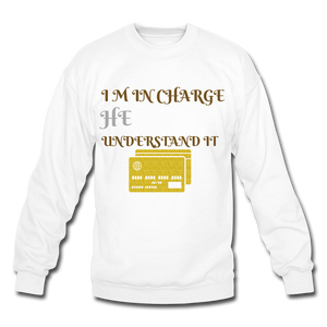 Crewneck Sweatshirt DIAMOND PRINT - SHE REAL 100%