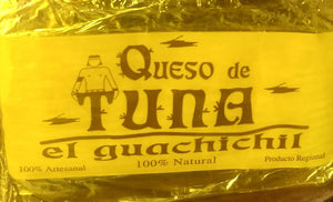 Queso de tuna barra 300a 350 gr