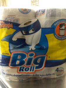 Papel higienico big roll 4