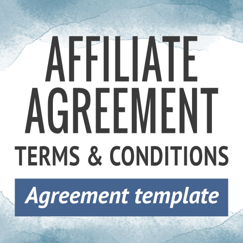 Affiliate Agreement Terms & Conditions