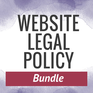 Website Legal Policies Bundle