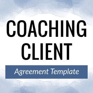 Coaching Client Agreement Template