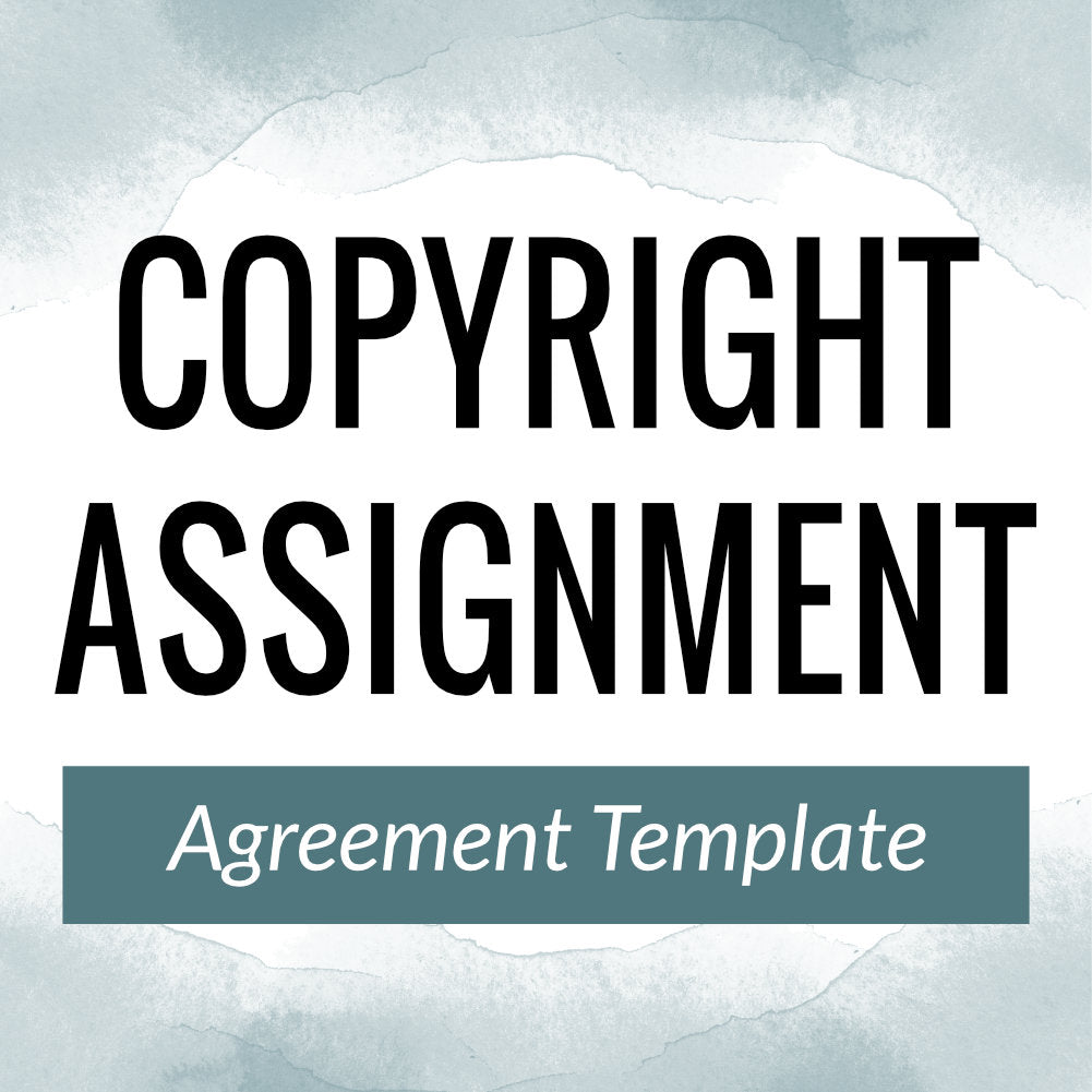 Copyright Assignment Agreement Template