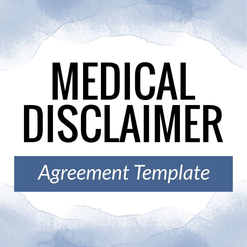 Medical Disclaimer Template