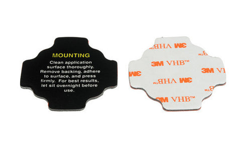 Rotating Flat Mount Adhesives