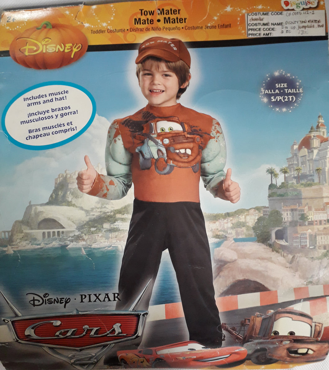 Disney Tow Mater for kids (2-4yo)
