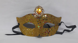 Masquerade Masks with Jewel and Lace