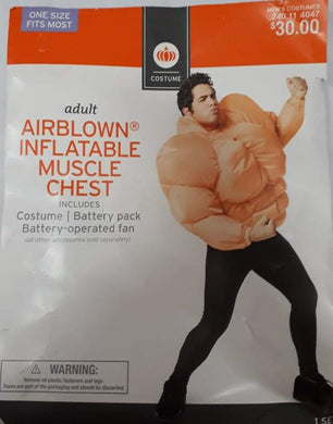 Airblown Inflatable Muscle Chest