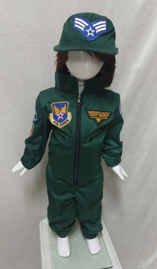 Air Force Top Gun Costume for Kids 1-10y