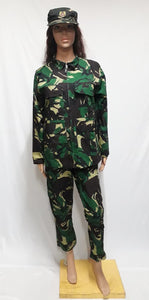 Army Camouflage Costume 2, S/M