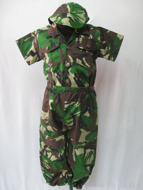 Army Costume for Kids 5-6y
