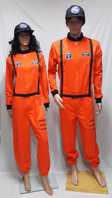 Astronaut Orange Costume 4