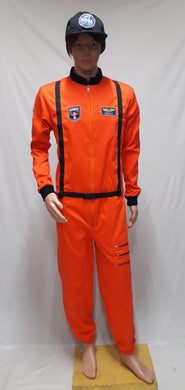 Astronaut Orange Costume 2
