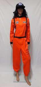 Astronaut Costume, Orange (L)