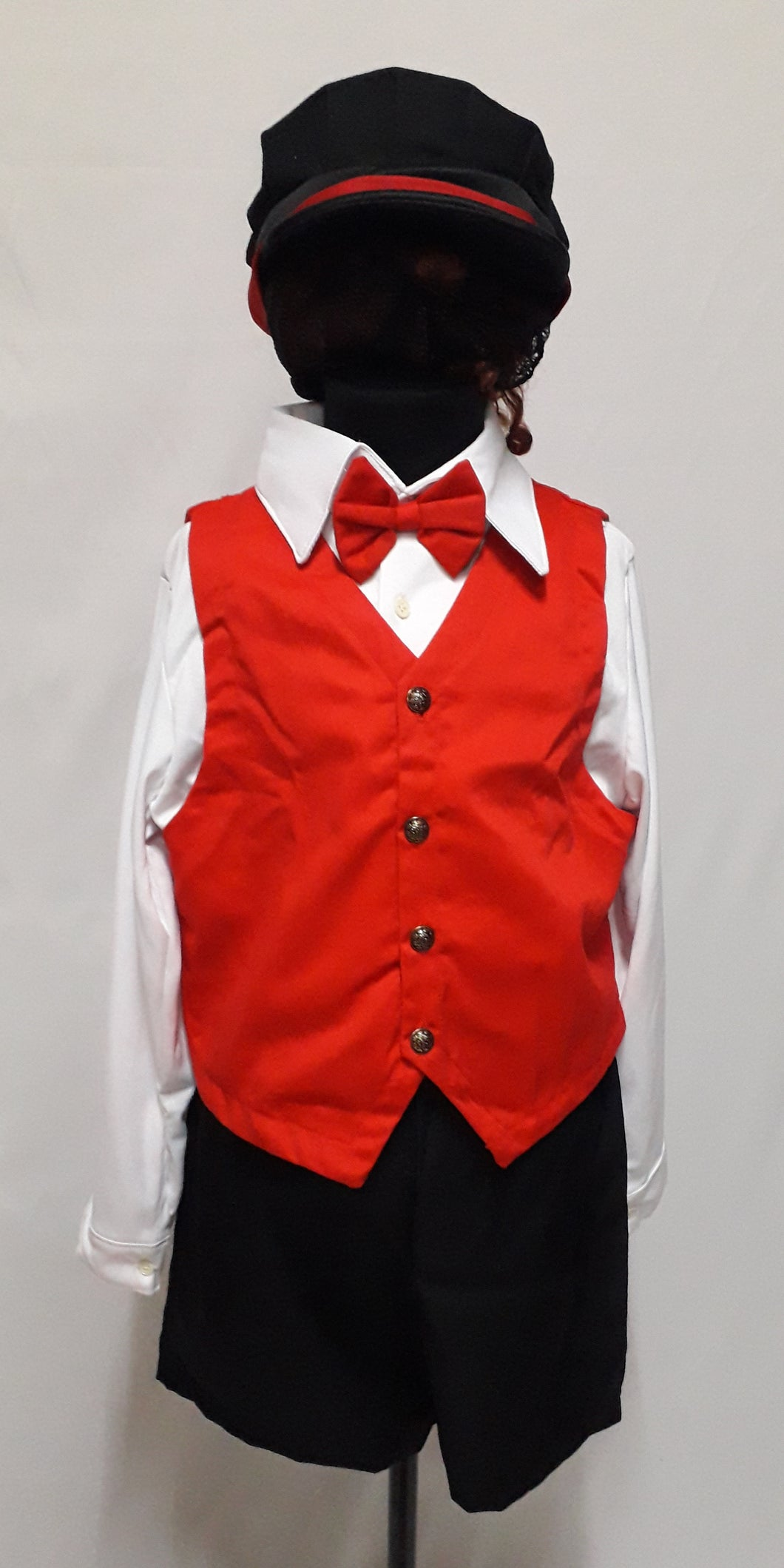 Austrian Boy Costume